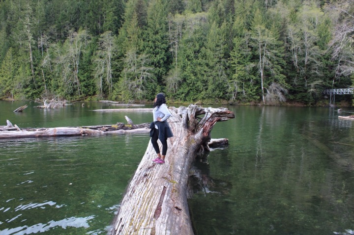 Surveying Chilliwack Lake