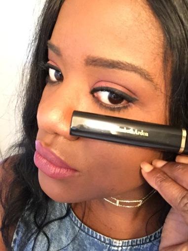 Natoya wears - Elizabeth Arden - Beautiful Colour Mascara