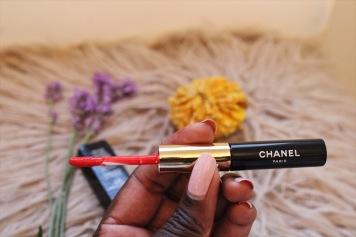 CHANEL ROUGE DOUBLE INTENSITÉ Ultra Wear Lip Colour 105 Curious Orange.