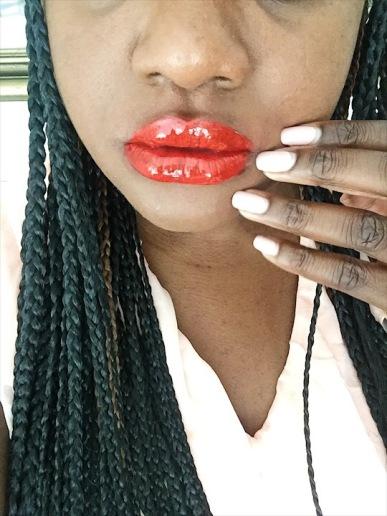 CHANEL ROUGE DOUBLE INTENSITÉ Ultra Wear Lip Colour 105 Curious Orange. (Natoyaista)