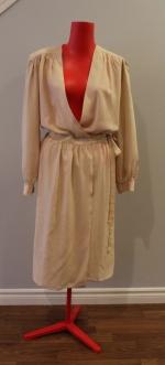 Pierre Cardin Silk wrap dress