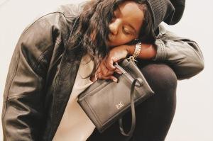Zac, Zac Posen, Women's, Eartha Envelope Crossbody Bag, Crossbody bag, luxury purse, black bag,