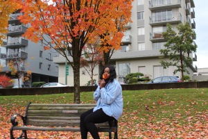 fall, autumn, deep cove, explore BC, fall fashion, leaves, fall leaves, nature, nature photography, fashion, black model, plus size model, black girl magic, vancouver, mission bc blogger, north vancouver, vancouver blogger, canadian beauty blogger, beauty blogger, jamaican blogger, jamaica, blogger,