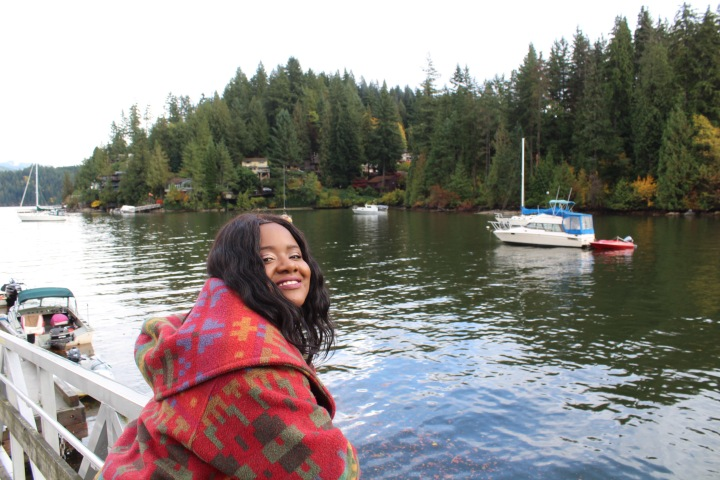 fall, autumn, deep cove, explore BC, fall fashion, leaves, fall leaves, nature, nature photography, fashion, black model, plus size model, black girl magic, vancouver, mission bc blogger, north vancouver, vancouver blogger, canadian beauty blogger, beauty blogger, jamaican blogger, jamaica, blogger,