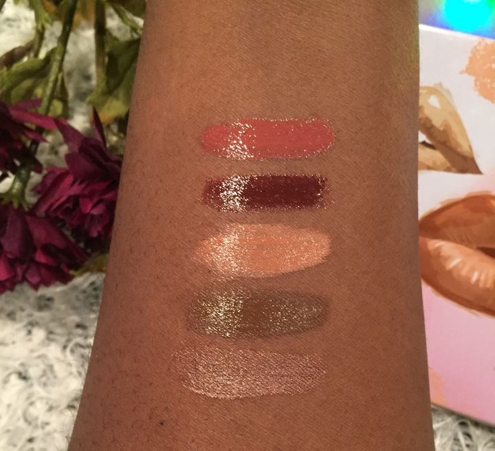 hard candy, lipsticks, holiday, holiday gift sets, gift sets, wet ever,Velvet mousse, lip gloss, matte lipsticks, swatches,