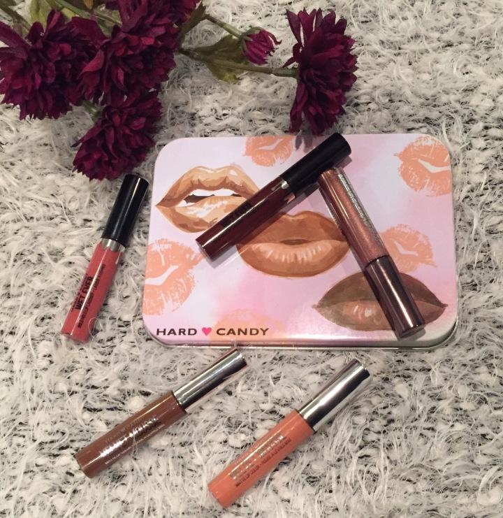 hard candy, lipsticks, holiday, holiday gift sets, gift sets, wet ever,Velvet mousse, lip gloss, matte lipsticks,