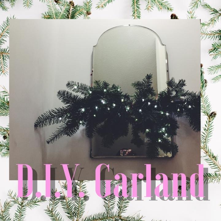 Home: D.I.Y MirrorGarland