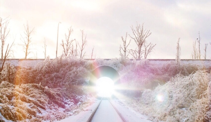tunnel, abbotsford bc, photography, landscape photography, just natoya, ice storm 2017, light in the tunnel, christian