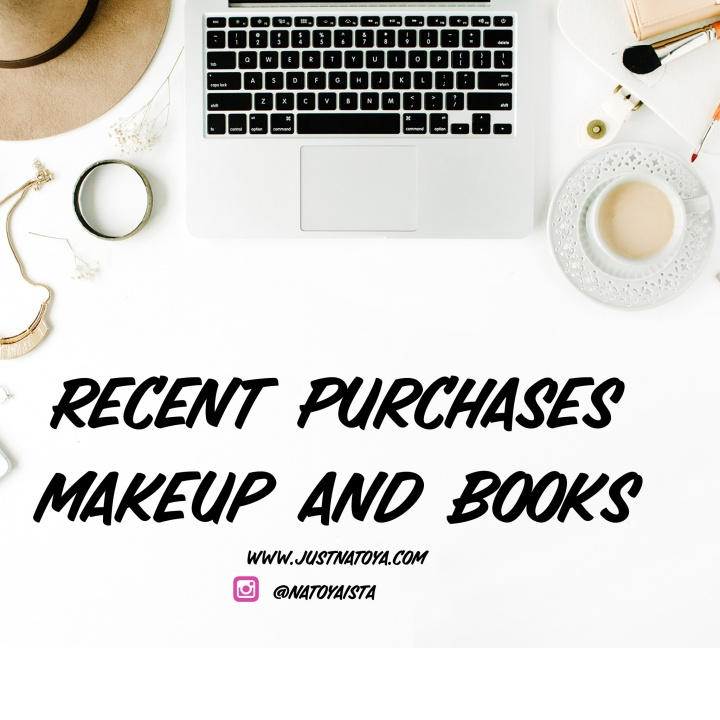 Recent Purchases – Make-Up and Books