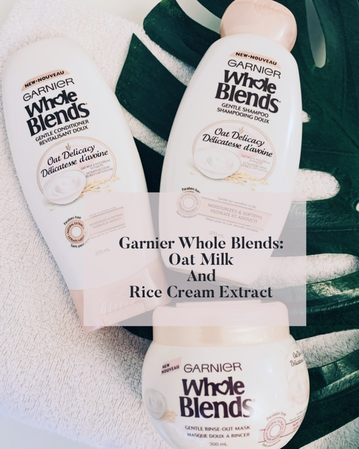 Garnier Whole Blends – Oat Milk & Rice Cream Extracts